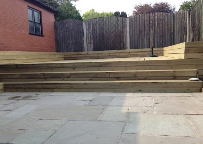 Bury decking project