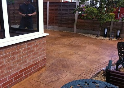 Printed concrete in Chorley