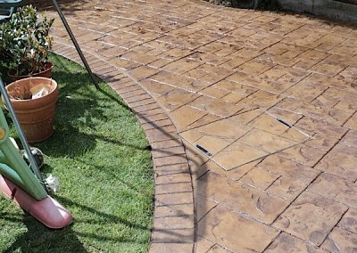 Rossendale patio installation