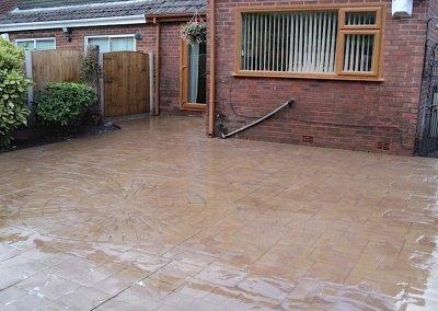 patio installations in Bury
