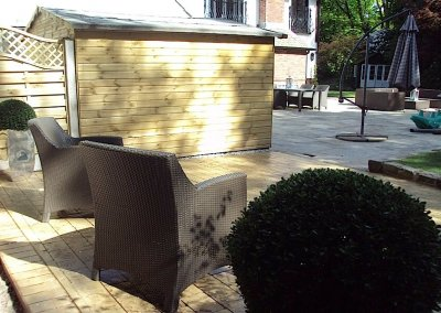 Bespoke patios in Oldham