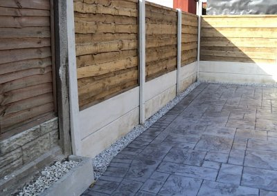 double base panel fencing