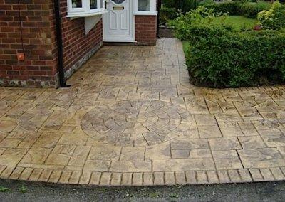 driveway-concrete-imprint-colour-concrete