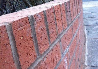 Close up brick wall