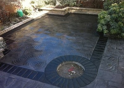 Patio installation in the North West