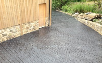 Printed, stamped or pressed concrete driveway: What's the difference?