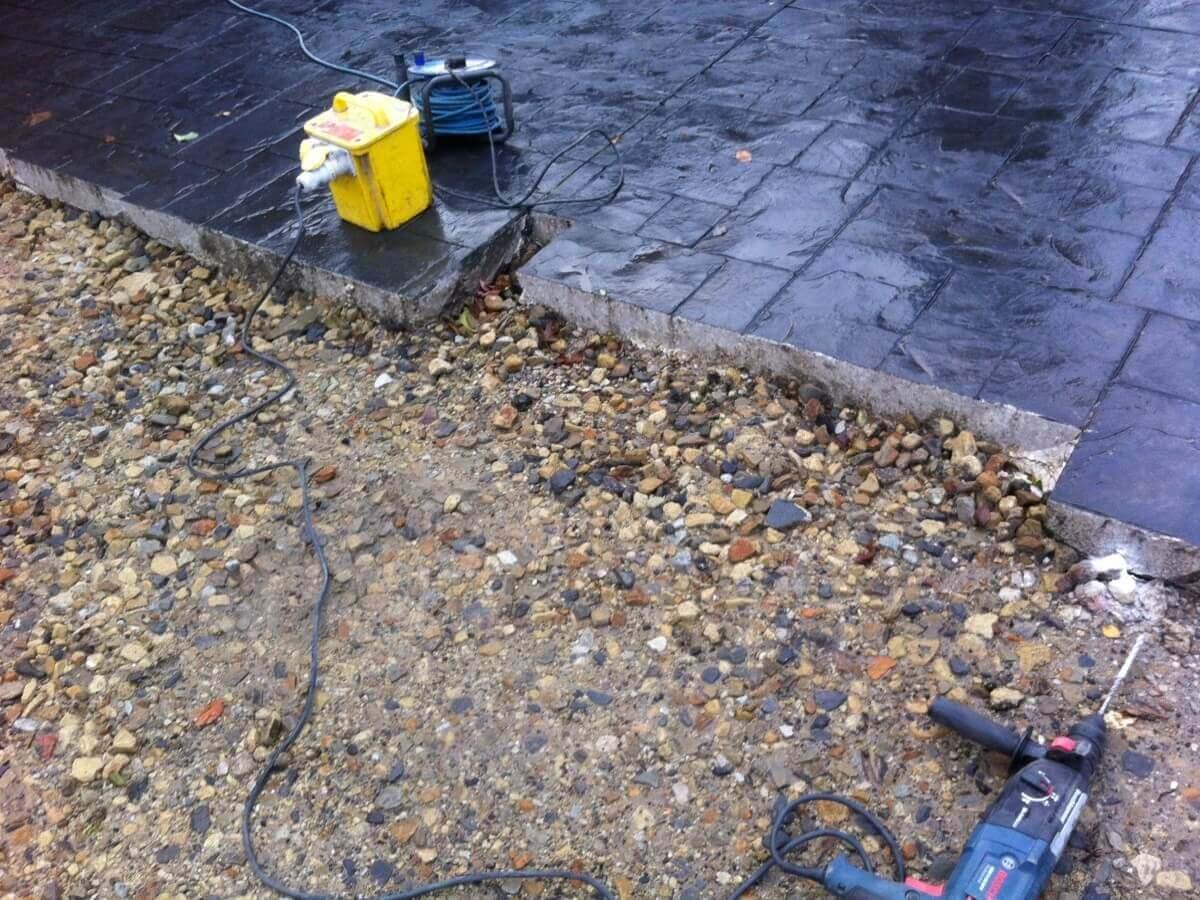 Concrete Being Cut Warrington