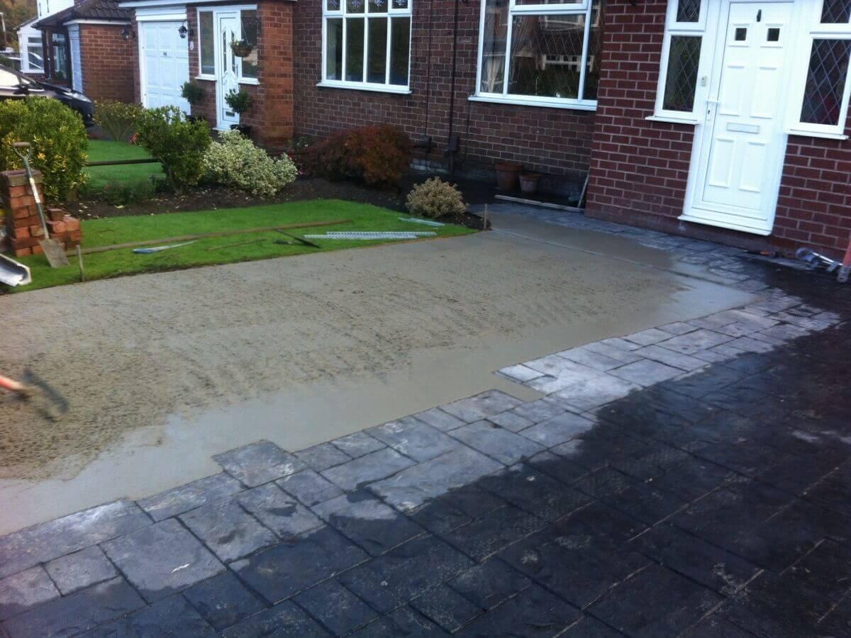 Concrete Poured Warrington