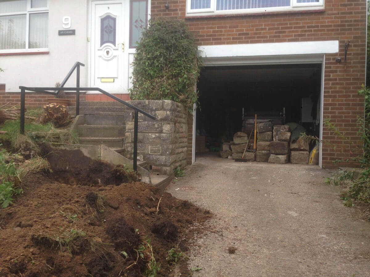 Driveway Before Oldham