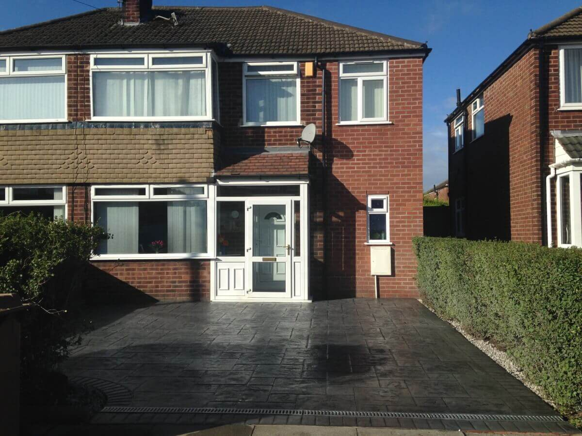 Finished Driveway Middleton