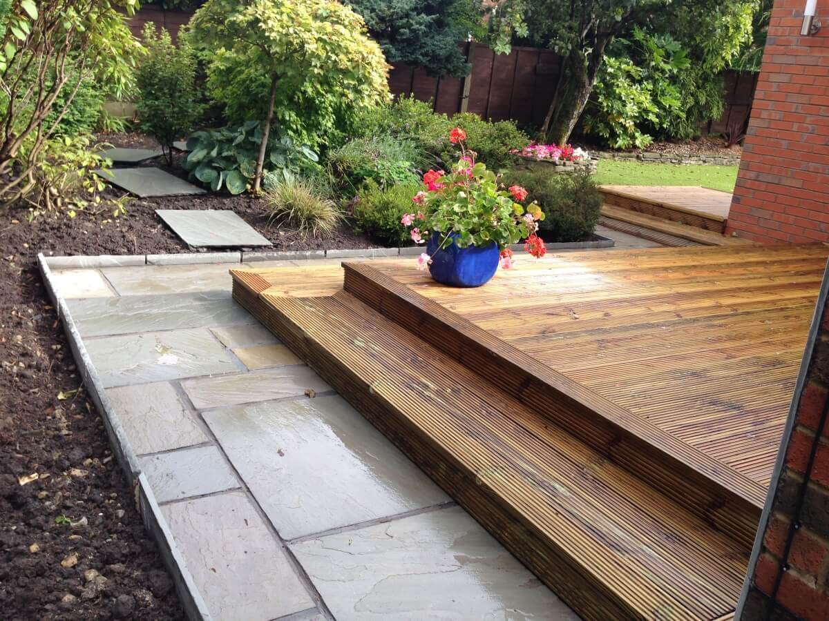 Flags and Decking Hawkshaw