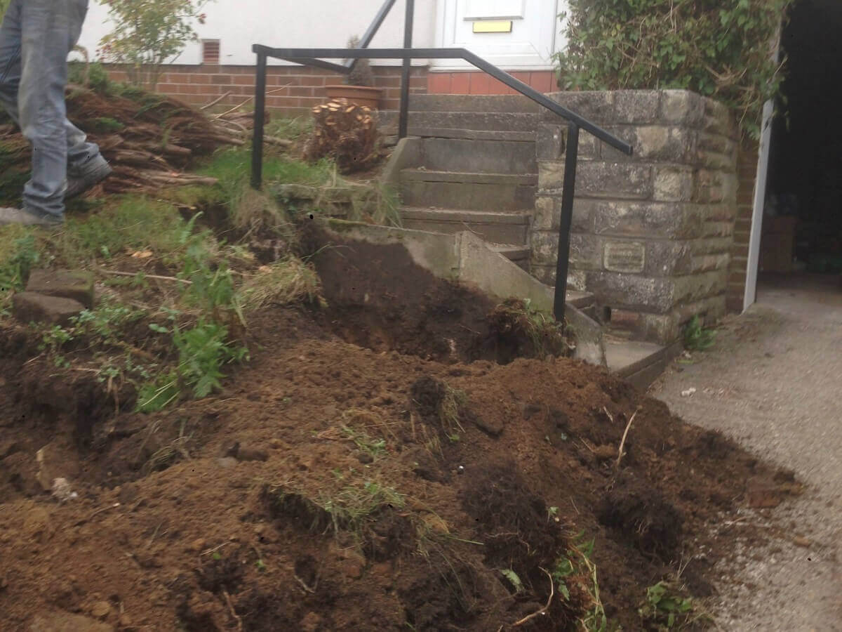 Landscaping to Level of Driveway Oldham