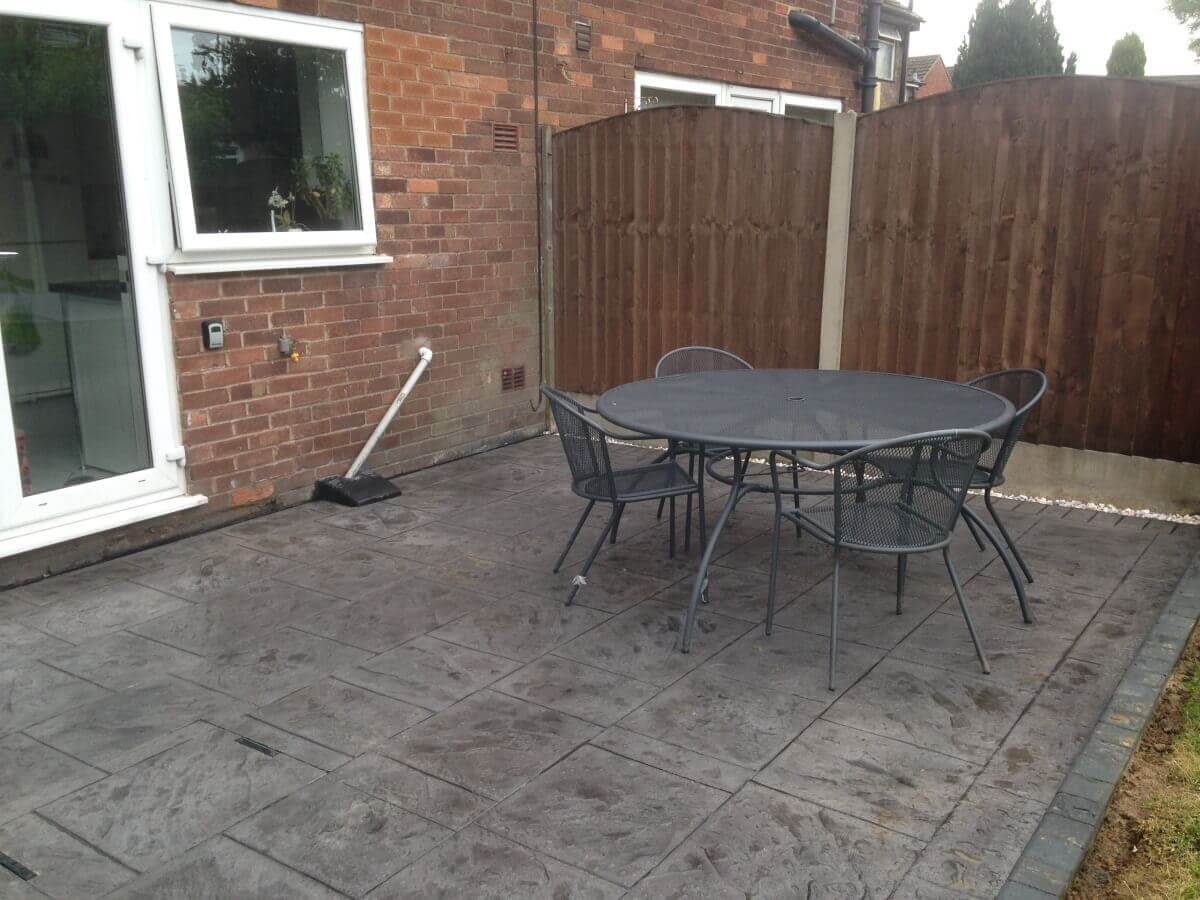 Patio and Table Urmston