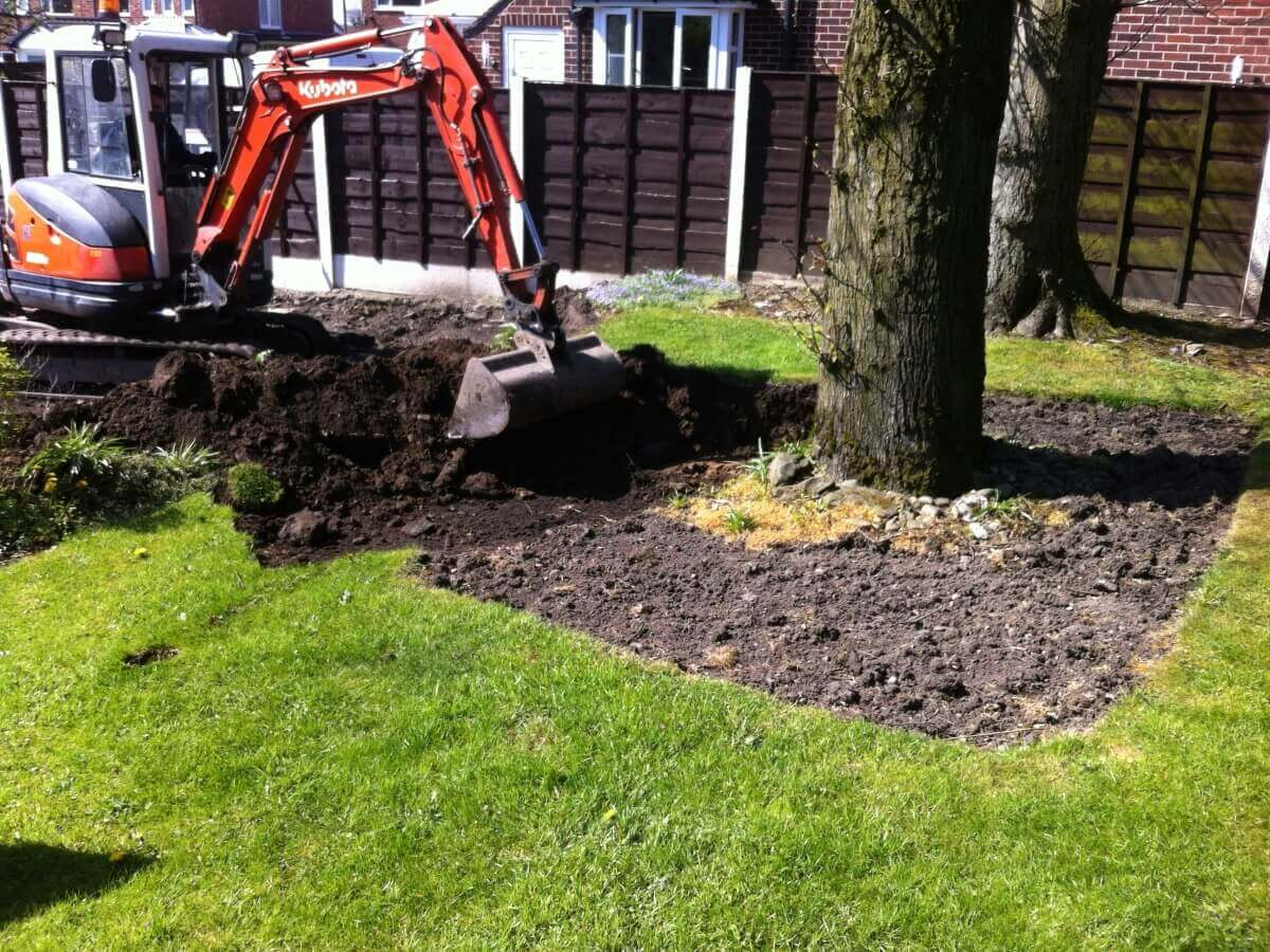 Removing the Front Lawn Brandlesholme