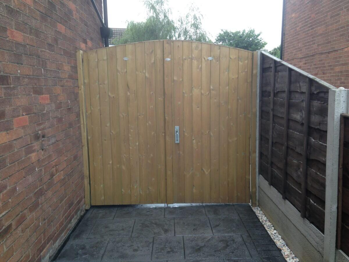 Wooden Gate Urmston