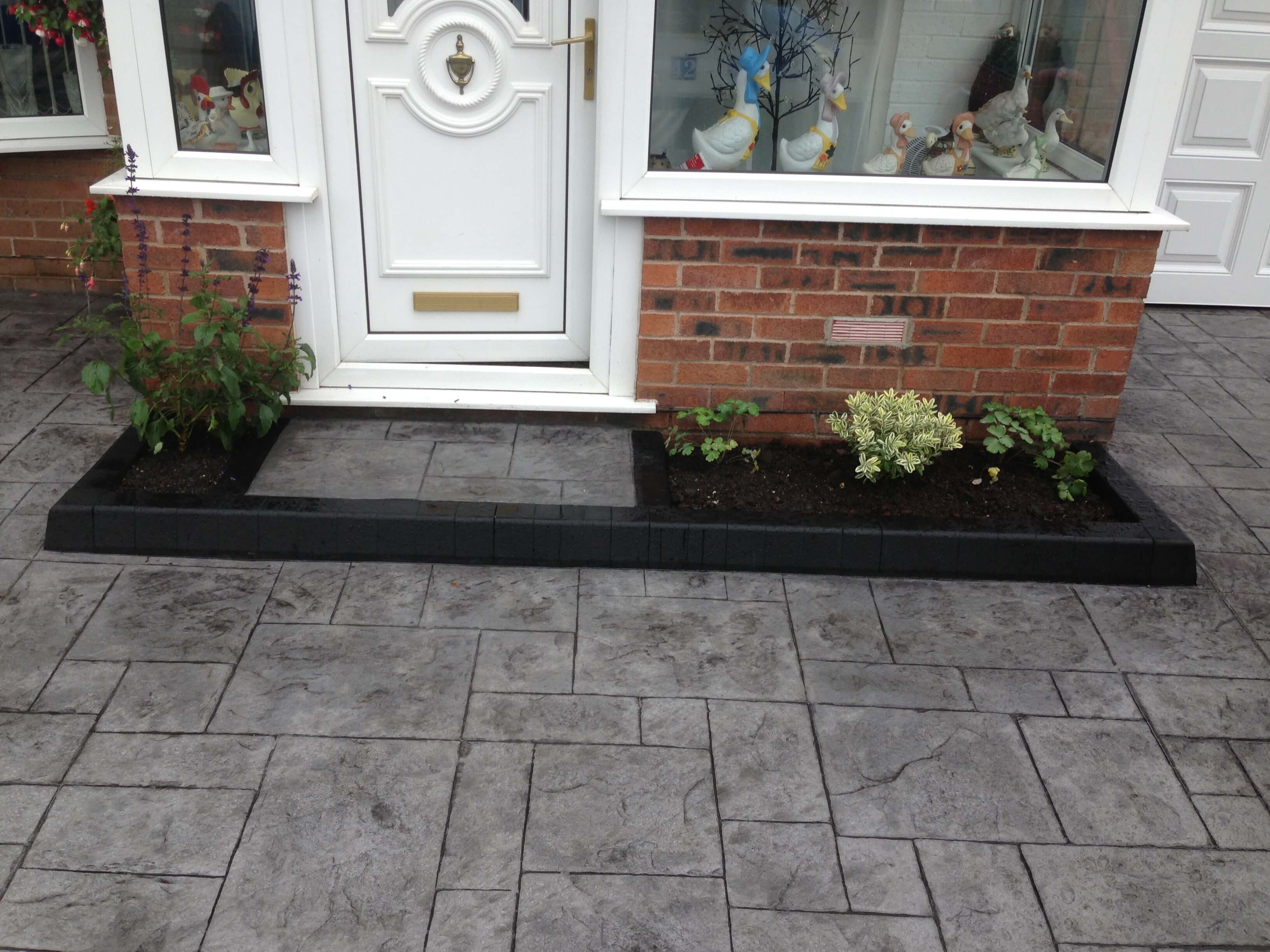 driveways - for raised planters