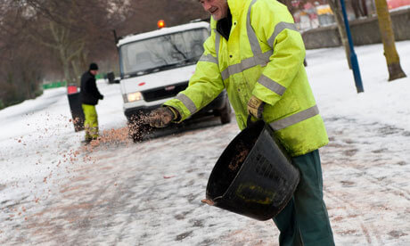 The unknown dangers of de-icers and rock salts