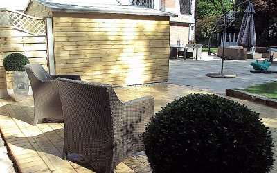 A guide to creating a traditional Patio Area