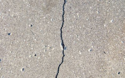 Cracks in your concrete, factors outside of our control