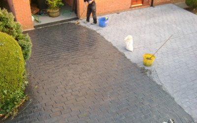 Maintaining and caring for your pattern imprinted concrete