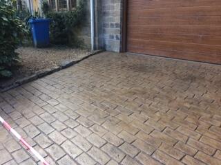 Pattern Imprinted Concrete