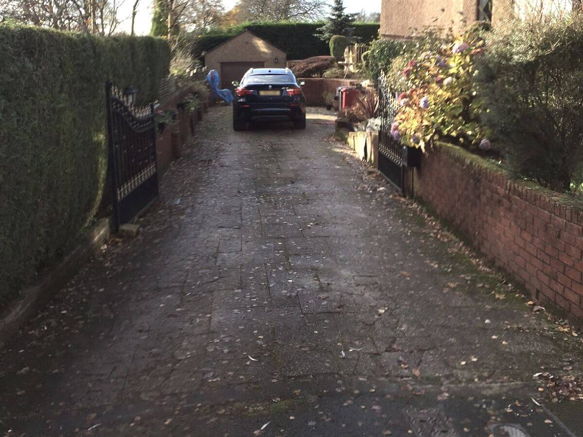 Before upgrade to Driveway in Blackburn
