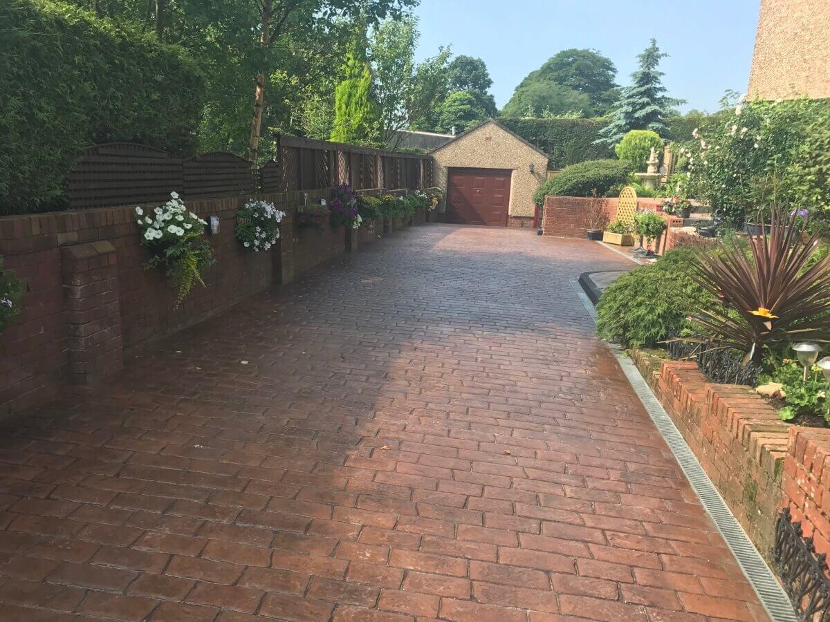 Pattern_Imprinted_Concrete_Driveway_Blackburn