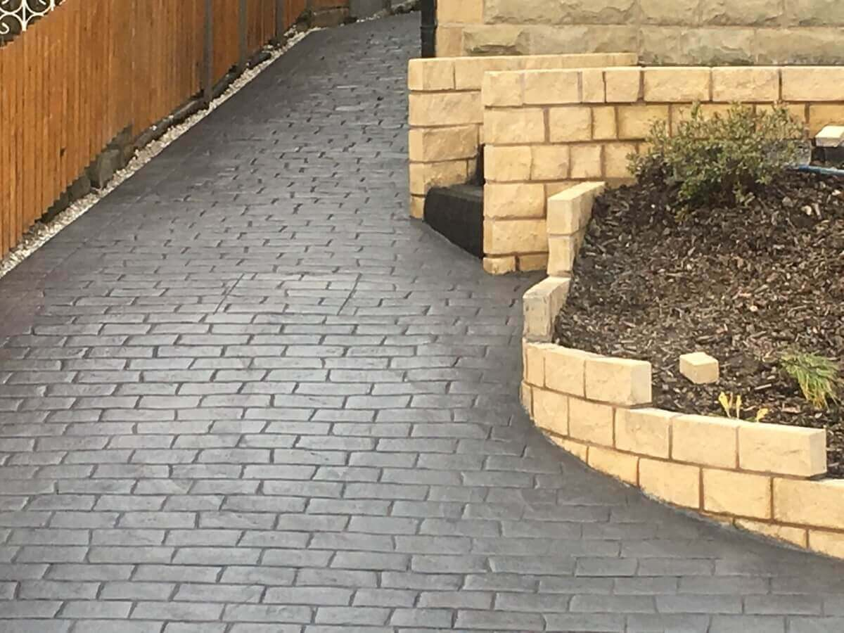 Rossendale Stamped Concrete