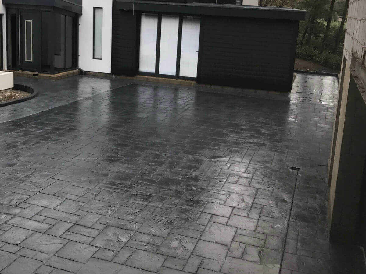 Rear Driveway After Bolton