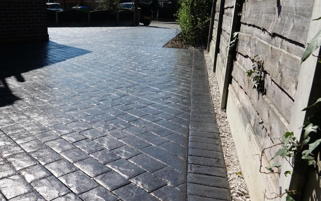 concrete block driveway paving alternative