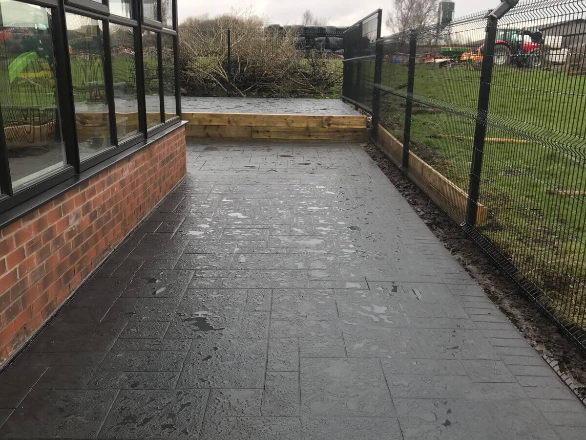 Imprinted Patio and Path Bolton