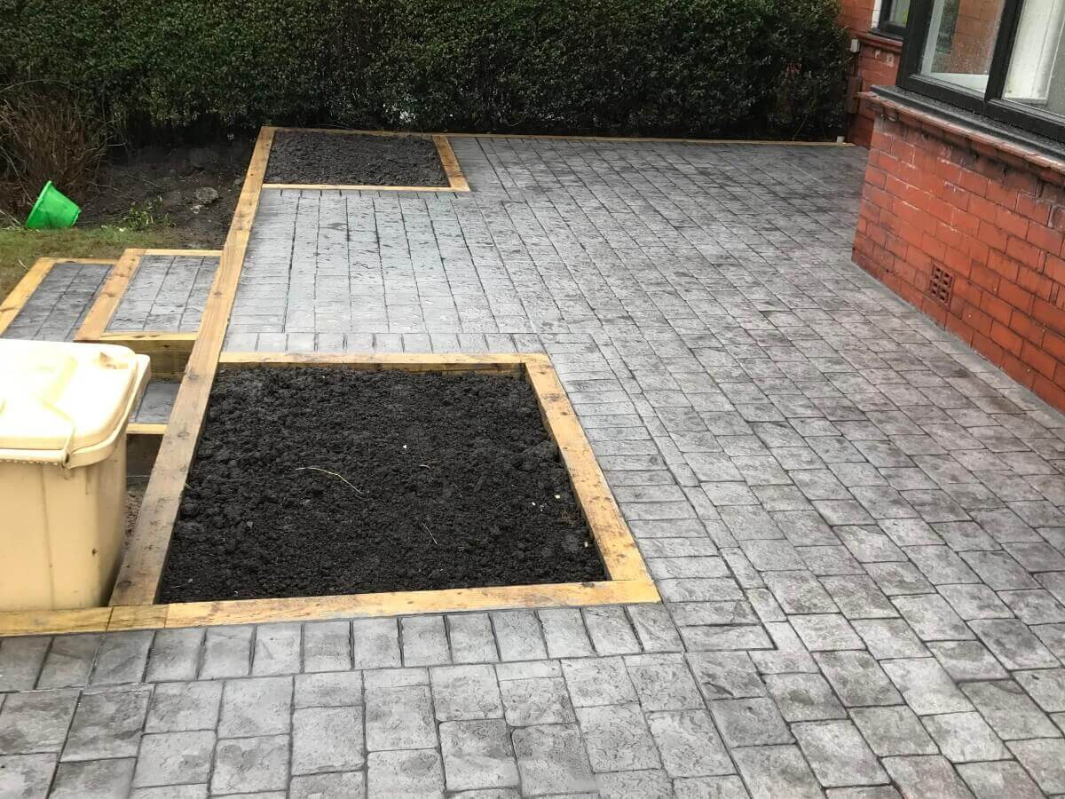 Planter Installation Bolton