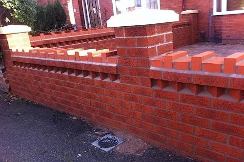 Manchester garden wall