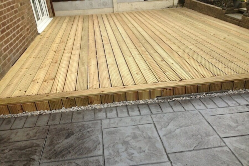 north west decking
