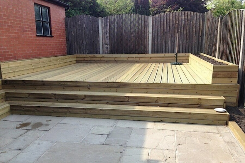 elavated decking