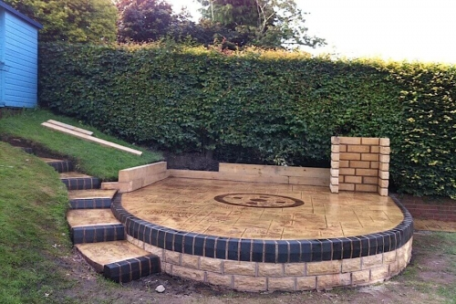 Specialist patio installation