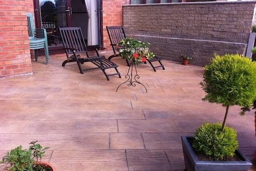 Preston patio installation