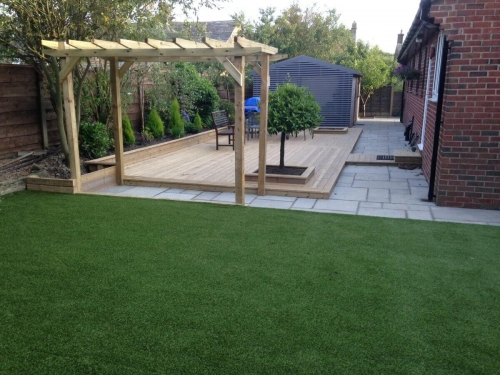 Artificial Turf, Pergola and Decking Hawkshaw