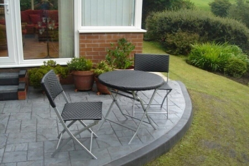 Patio installations in Bolton