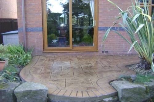 Patio installations in Bury