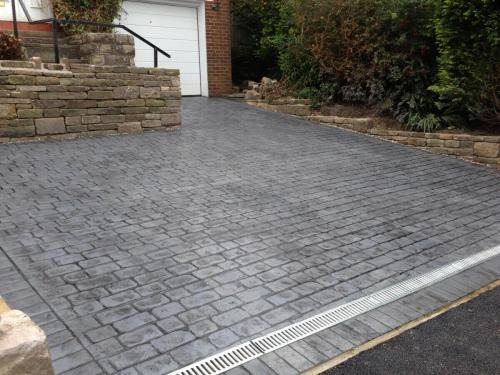 Finished Driveway Oldham